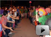 Rebelclowns at the CirCairo festival, Cairo, October 2012