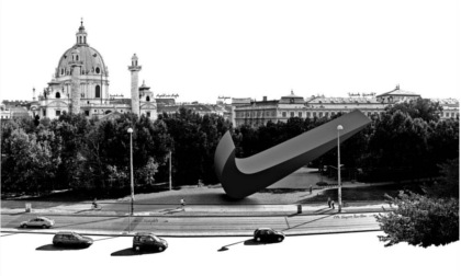The proposed Nike monument in Karlsplatz, Vienna. Source: www.0100101110101101.org.